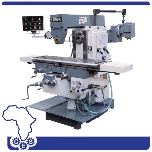 Knee and Ram Type Universal Mills