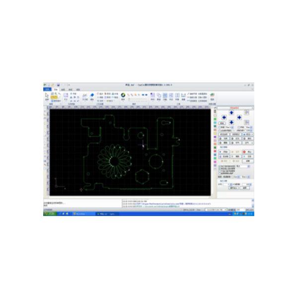 XS Fiber laser cutting machine CYPCUT CNC laser control system for the F3015KE